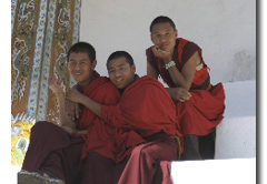 Buddhist Monks Bhutan